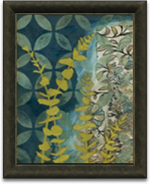 18x24 Peridot Botanical II preview