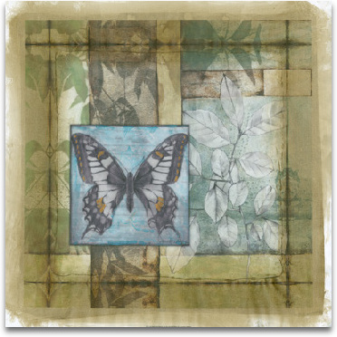 Stained Glass Butterfly II preview