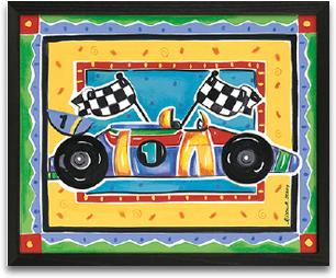 Race Car 10x8 preview