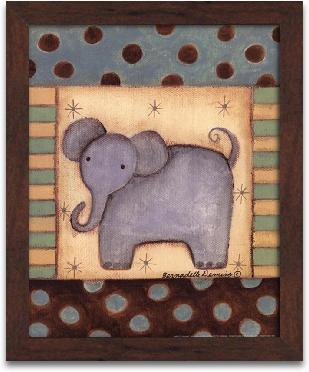 Baby Elephant 8x10 preview