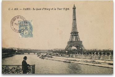 Le Quai D'Orsay Et La Tour Eiffel preview