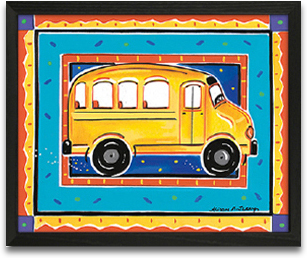 School Bus 10x8 preview
