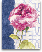 Antique Floral On Wh...<span>Antique Floral On White II - 11x14</span>