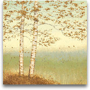 Golden Birch I With ...<span>Golden Birch I With Blue Sky - 24x24</span>