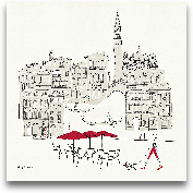 World Cafel IV - Ven...<span>World Cafel IV - Venice Red - 12x12</span>