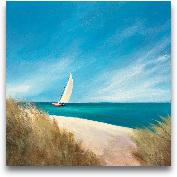 Sunday Sail - 24x24