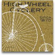 High Wheel Cyclery -...<span>High Wheel Cyclery - 12x12</span>