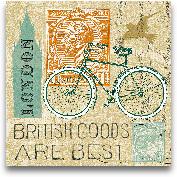 Postcard From London...<span>Postcard From London Collage - 12x12</span>