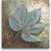 Turquoise Leaf II