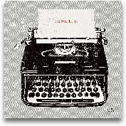 Vintage Analog Typew...<span>Vintage Analog Typewriter - 12x12</span>