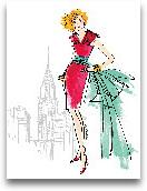 Colorful Fashion III...<span>Colorful Fashion III - New York 11x14</span>