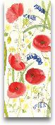 Meadow Poppies II - 8x20
