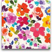 Bright Florals  I - ...<span>Bright Florals  I - 35x35</span>