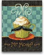 Cafe Moustache V - 8x10