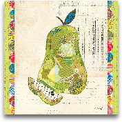 Fruit Collage III - ...<span>Fruit Collage III - Pear - 12x12</span>