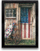 12x16 America Rocker...<span>12x16 America Rocker Framed Art</span>