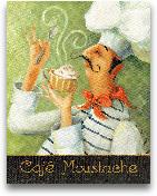 Cafe Moustache II - ...<span>Cafe Moustache II - 11x14</span>