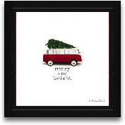 12x12 Merry And Brig...<span>12x12 Merry And Bright Christmas Framed Art</span>
