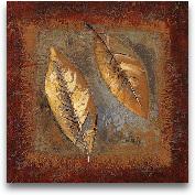 Rustic Leaf Square II