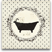 Cartouche Bath - 12x12