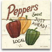 Sweet Peppers-6x6