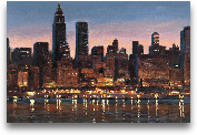 Manhattan Reflection...<span>Manhattan Reflection - 36x24</span>