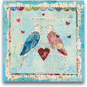 Love Birds Square - ...<span>Love Birds Square - 12x12</span>