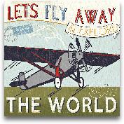 Let's Travel II - 12x12