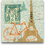 Postcard From Paris ...<span>Postcard From Paris Collage</span>