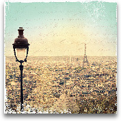 Eiffel Landscape Let...<span>Eiffel Landscape Letter Blue I - 12x12</span>