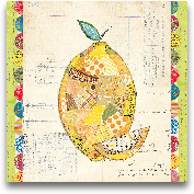 Fruit Collage II - L...<span>Fruit Collage II - Lemon 12x12</span>