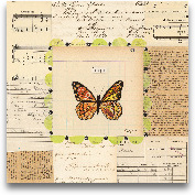 Hope Butterfly - 12x12