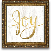 12x12 Joy Framed Art