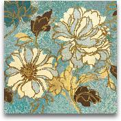 Sophia's Flowers I Blue
