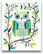 Night Owl II - 11x14