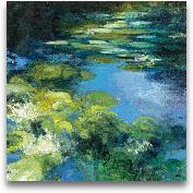 Water Lilies II - 24x24