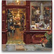 Parisian Shoppe II -...<span>Parisian Shoppe II - 18x18</span>