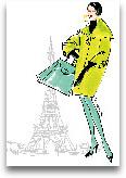 Colorful Fashion II ...<span>Colorful Fashion II - Paris 11x14</span>