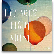 Happiness - Let Your...<span>Happiness - Let Your Light Shine - 12x12</span>