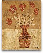Batik Tulips - 16x20