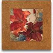 Crimson Fleurish I