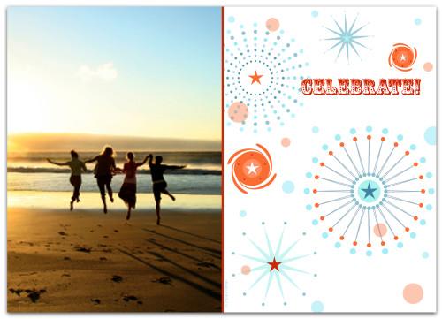 5x7 Card: Celebrate