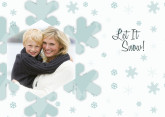 5x7 Card: Let It Snow!