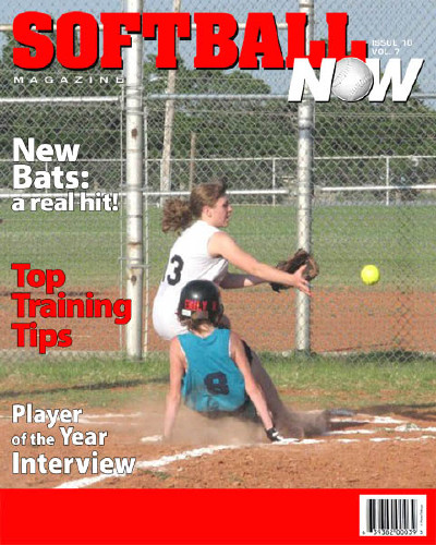 "8x10 ""Softball Now"" Cover"