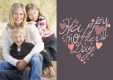 Heart Shaped Mother's Day