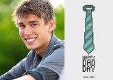 Cyber Tie Father's Day