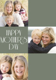 Dark Green Happy Mother's Day Collage