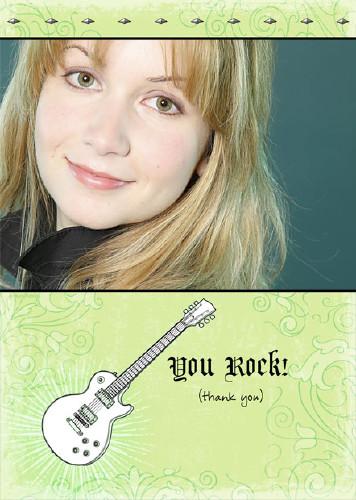 5x7 Card: You Rock!