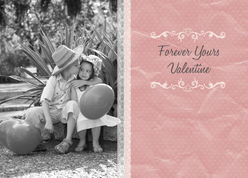 5x7 Card: Forever Yours
