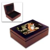 Mahogany Keepsake Box